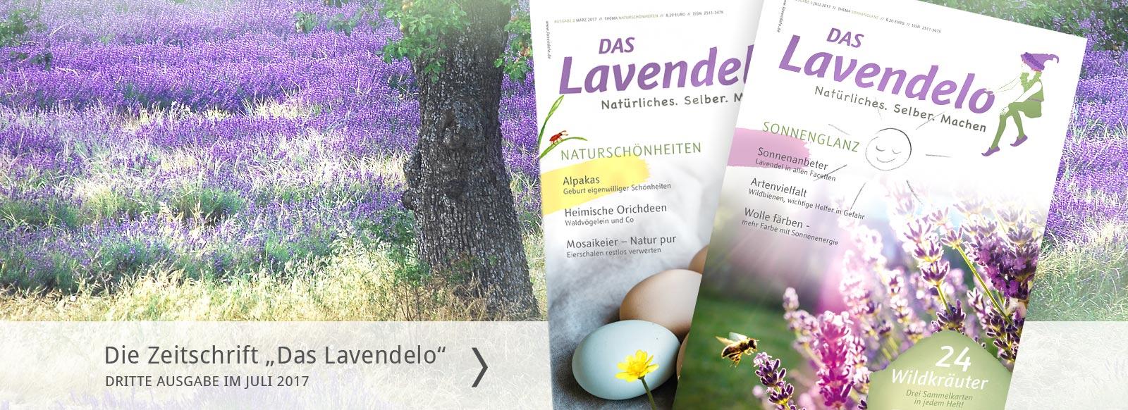 Starter Lavendelo Zeitschrift