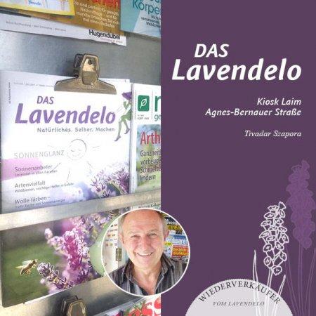 Kiosk wiederverkäufer vom Lavendelo