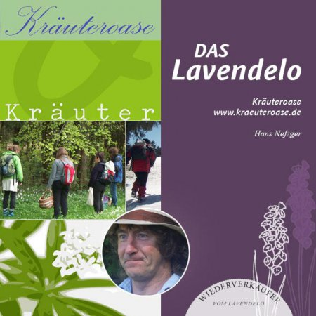 Kräuterpädagogen sind Wiederverkäufer vom Lavendelo