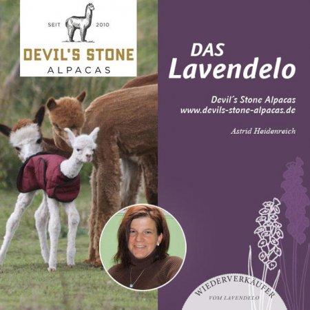 Devilston Alpakas Wiederverkäufer vom Lavendelo