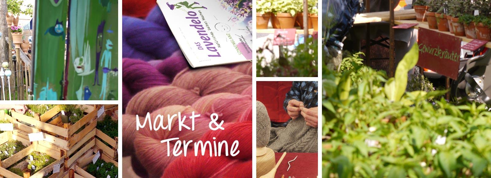 Märkte und Termine Lavendelo
