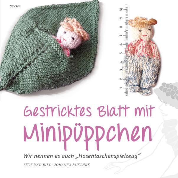 Minipüppchen stricken