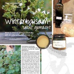Winterbalsam - eine Anleitung