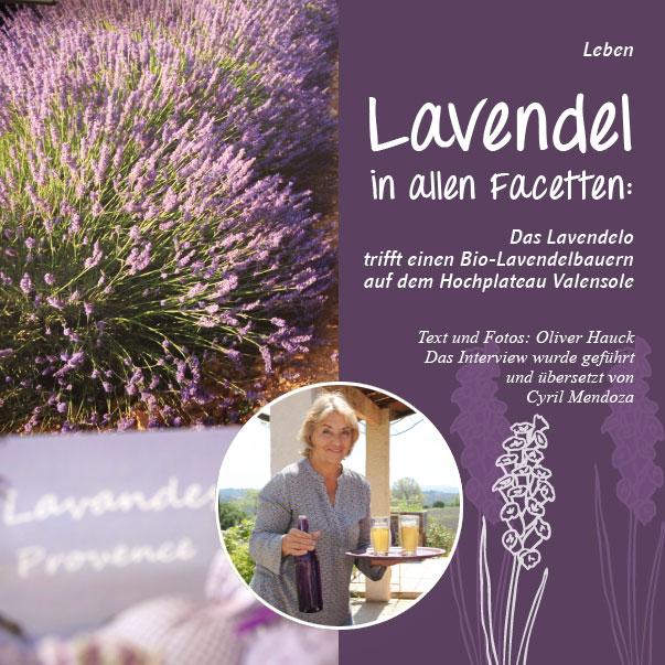 Lavendelanbau in der Provence das Interview