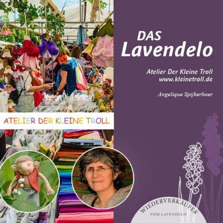 Atelier der kleine Troll ist Wiederverkäufer vom Lavendelo