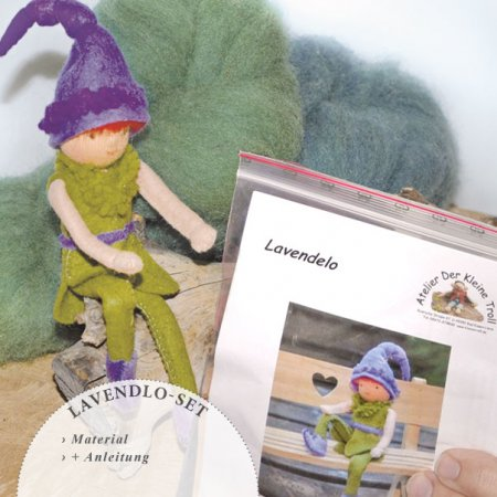 Bastelpackung Das Lavendelo
