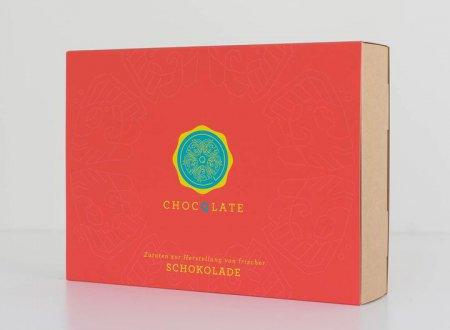 Schokoladenset als Geschenk red