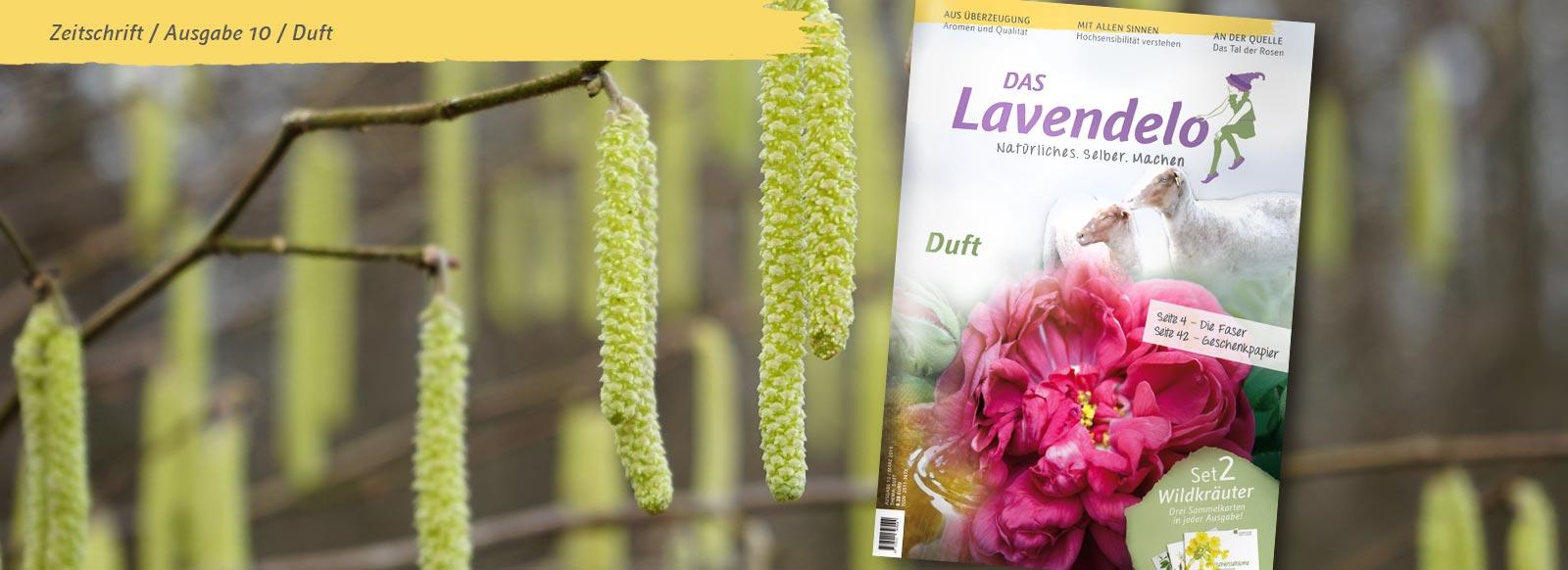 Banner Das Lavendelo Ausgabe 10 Frühling 2019