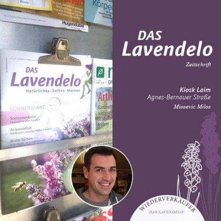 Kiosk Laim München Wiederverkäufer Lavendelo