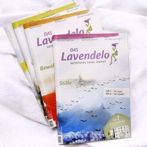Lavendelo Jahreskreis 2018 Vier Ausgaben