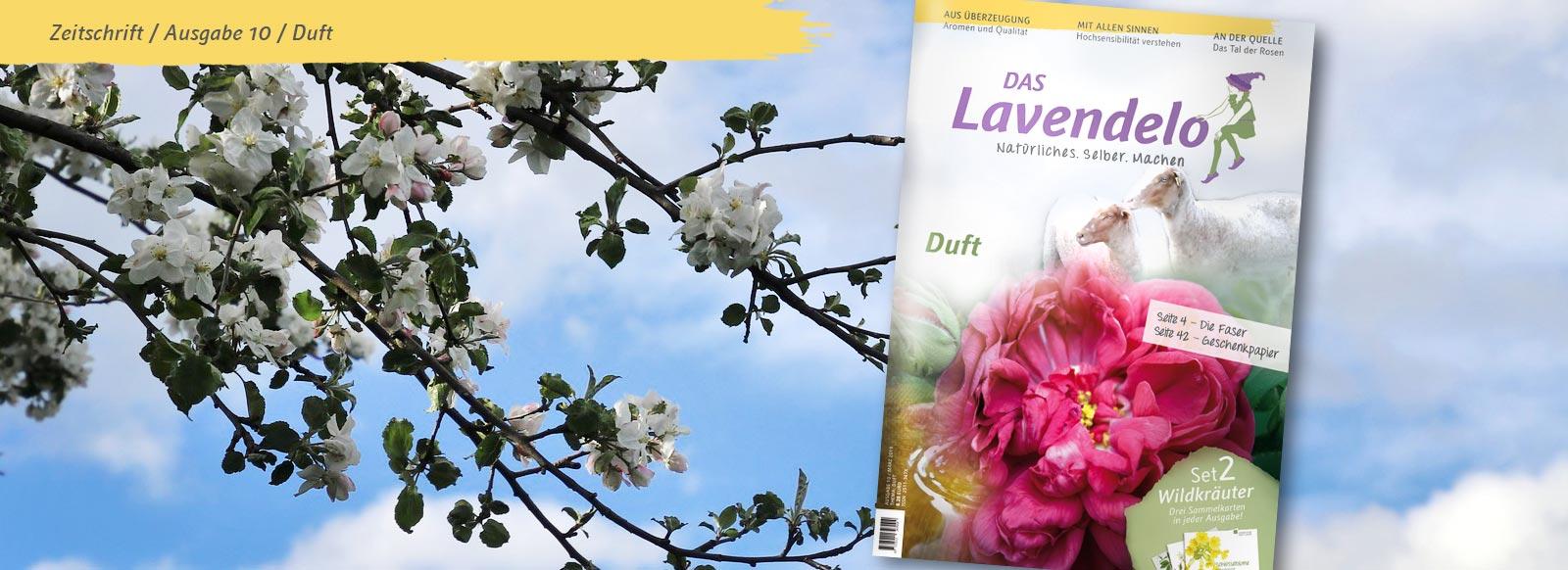 """Banner Lavendelo Ausgabe 10 """"Duft"""""""