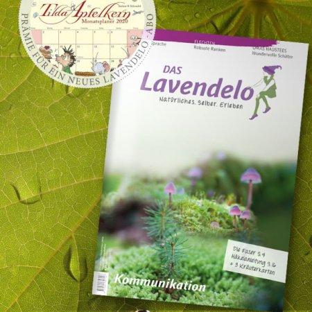 Lavendelo Abo mit Prämie Monatskalender