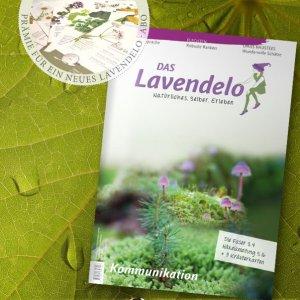 Lavendelo-Abo mit Prämie Wildkräuterkarten