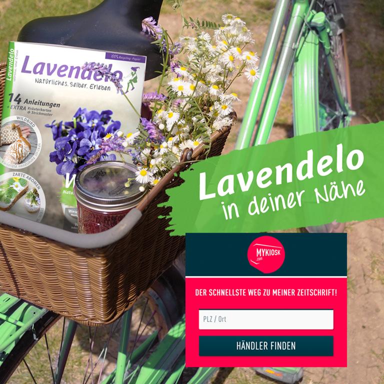 Lavendelo im Zeitschriftenhandel