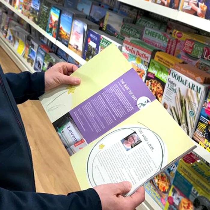 Lavendelo im Zeitschriftenhandel Inhalt