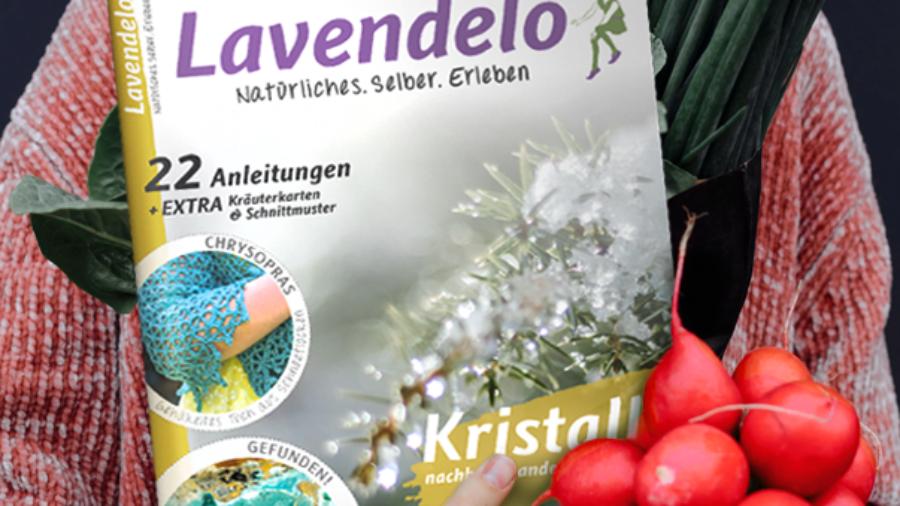 Lavendelo im EInzelhandel