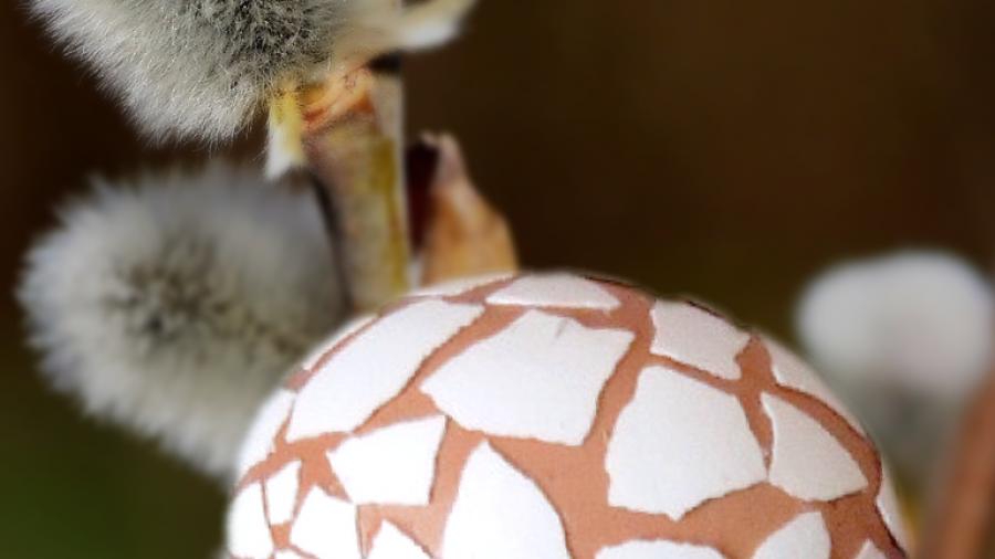 Ostern: Mosaikeier 3