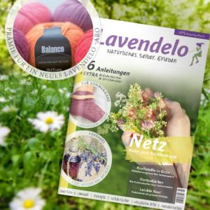 Abo Lavendelo mit Prämie Wolle Zitron