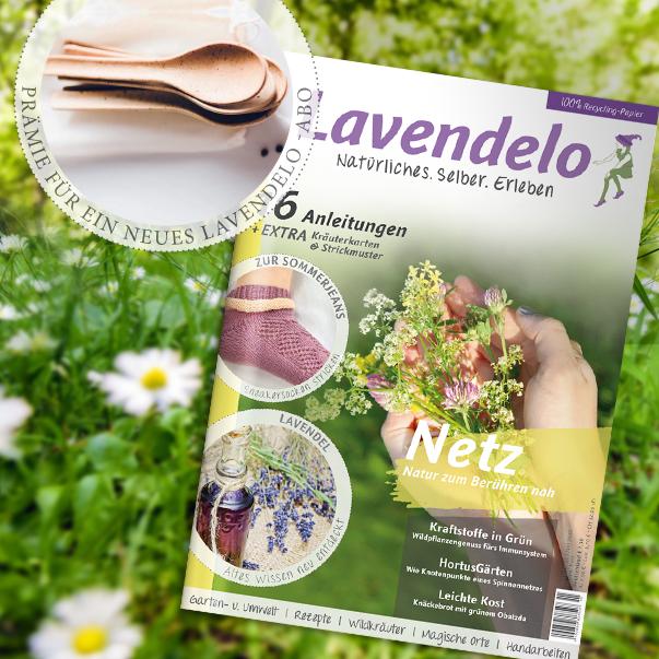 ABo Lavendelo mit Prämie Essbare Löffel Kulero