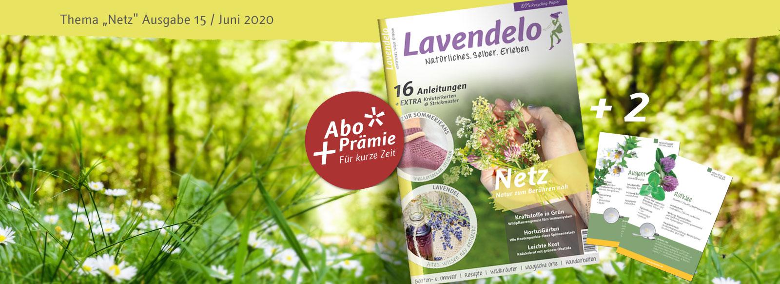 Lavendelo 15 Zeitschrift Sommer 2020