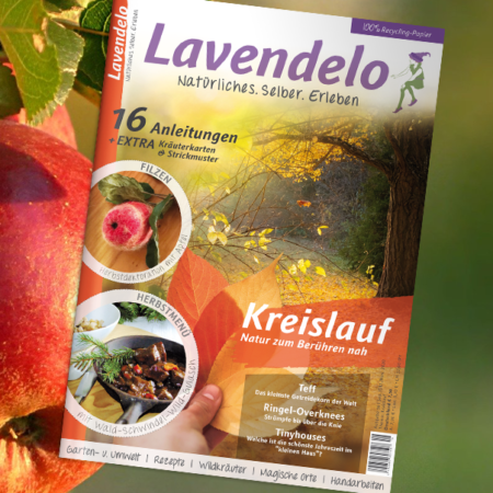 Cover Ausgabe 16 Lavendelo
