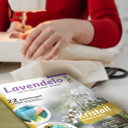 "Nähen im Lavendelo 17 ""Kristall"""