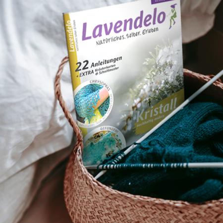 Lavendelo mit Anleitungen Stricken