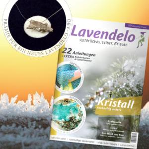"Lavendelo-Abo mit Prämie ""Kette Meteorit"""
