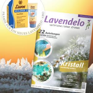 Lavendelo-Abo mit Prämie Luvos Heilerde