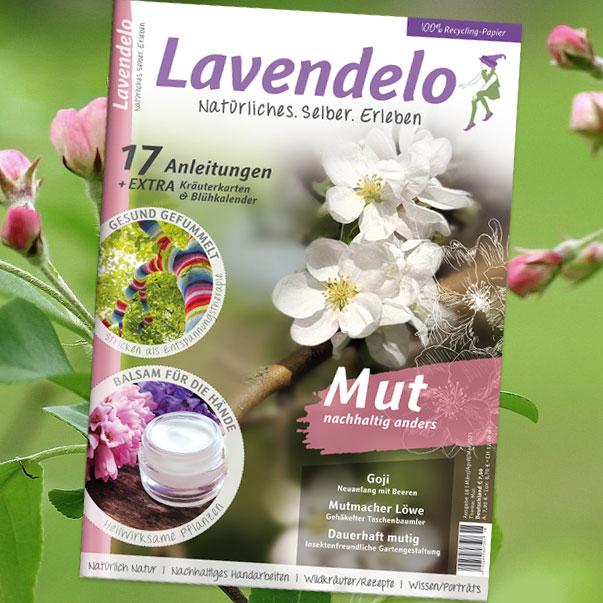 Lavendelo Cover Frühjahr 2021