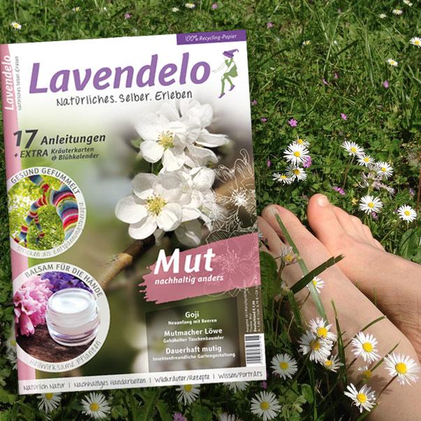 Mutig draußen Lavendelo Frühjahr 2021