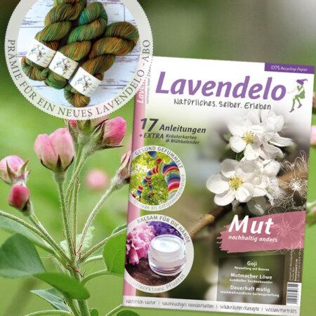 Aboprämie Lavendelo Garn Kunschtwerk