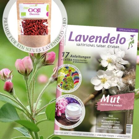 Aboprämie Lavendelo Bio-Gojibeeren