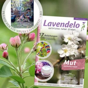 """Aboprämie Lavendelo Buch """"Frei und wild"""""""
