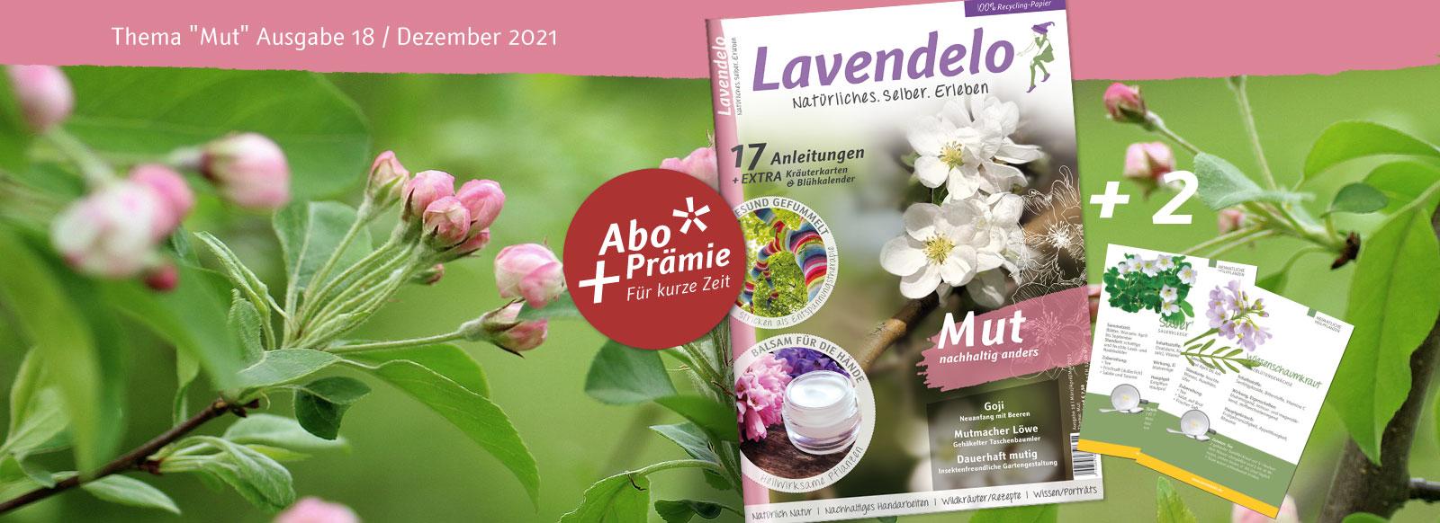 Lavendelo Ausgabe 18 Frühjahr 2021