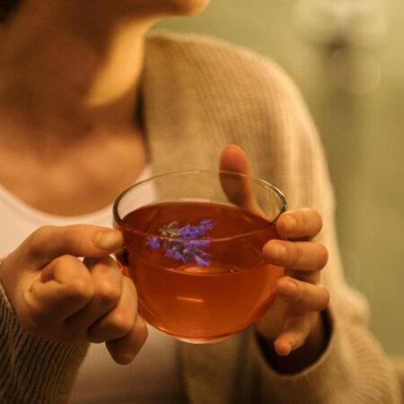 Rezept Tee mit Lavendelblüten