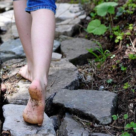 Neue Schuhe für das Lavendelo